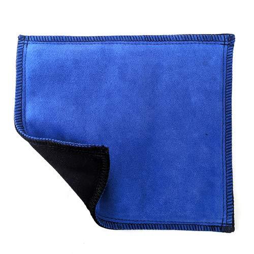 Unbranded Leather Bowling Shammy - Blue/Black