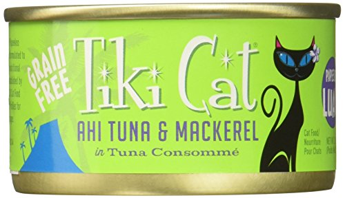 Tiki Cat Consomme, 12-Pack, 2.8-Ounce Can, Papeekeo Luau Ahi