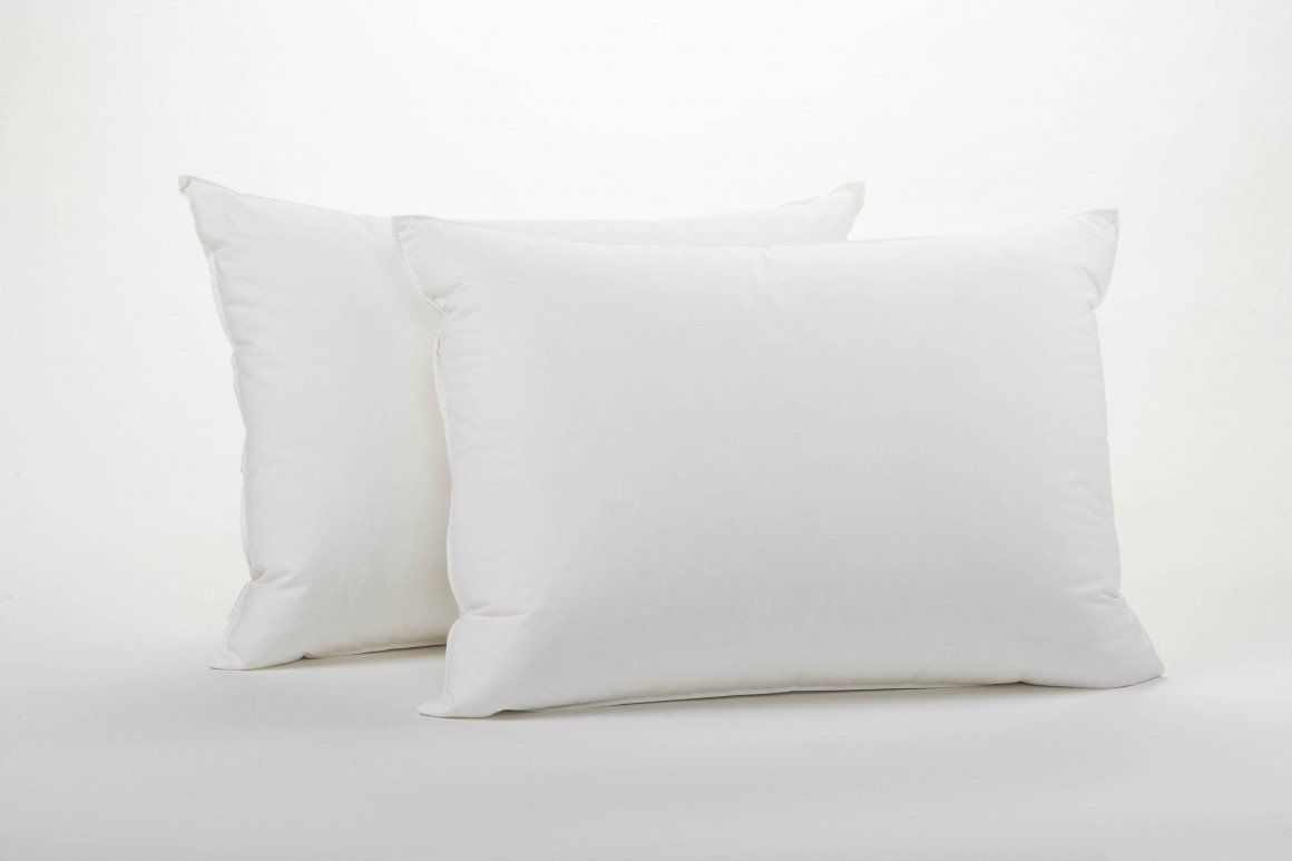 Non Allergenic Hollowfibre Soft Polycotton Pillow Pairs : 2 Pack Made In the UK By Sleep&Smile Sleep& Smile