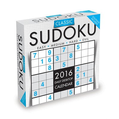 Sudoku Desk Calendar by TF Publishing 2016