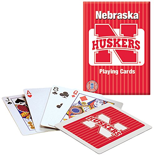 Ncaa University College Patch - Nebraska Playing cards