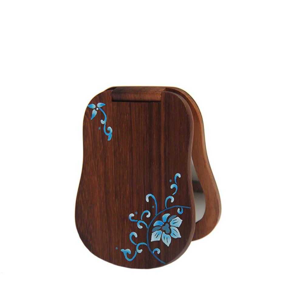 Lacquer mirror/Wooden mirror/cosmetic mirror/ leather mirror/ lovers gift-A outlet