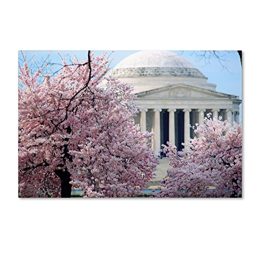"UPC 886511542358, Trademark Fine Art ""Cherry Blossoms 2014-7"" Artwork by CATeyes, 12 by 19-Inch"