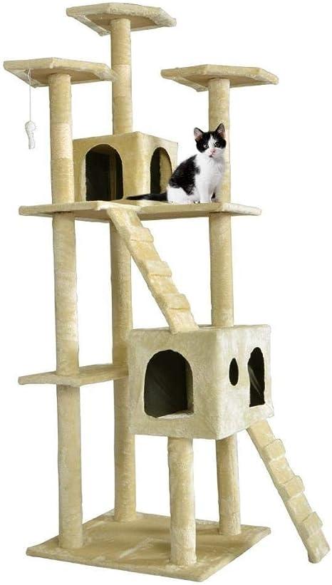Axiba Árbol para Gatos,Gatos Escalada Escalada Rack de Gato ...