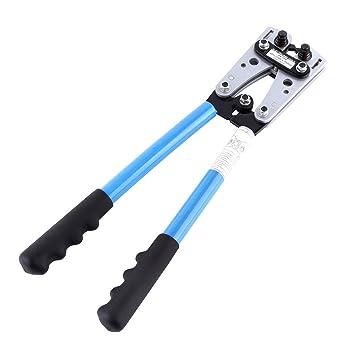 Alicates de Crimpado, Alicate Hexagonales Pelacables Automático para Pelar/Cortar/Presionar para Cable