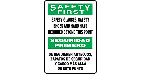 Accuform SBMPPA904VA Aluminum Sign, Legend