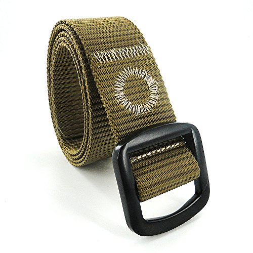 Dew Tactical Nylon Duty Army Belt For Men Military Style Casual Outdoor Adjustable Webbing Buckle Operator Olive Belt For Men