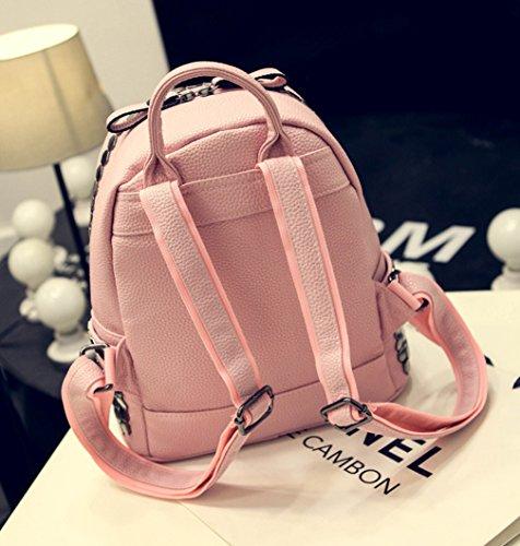 Keshi Pu Niedlich Damen accessories hohe Qualität Einfache Tasche Schultertasche Freizeitrucksack Tasche Rucksäcke Rot