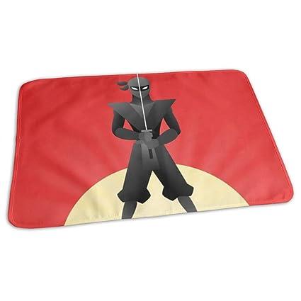 Amazon.com: Colorful Ninja Warrior Background Infant ...