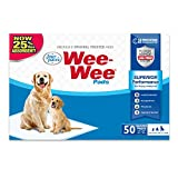 "Wee-Wee Puppy Training Pee Pads 50-Count 22"" x 23"" Standard Size Pads for Dogs"