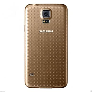 newest f596c ab41e Samsung Galaxy S5 Battery Back Cover Case I9600 Housing Replacement (Gold)