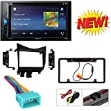 Pioneer AVH-200EX 2-Din 6.2 DVD/CD/iPhone/Android/Bluetooth + Double DIN Car Radio Stereo Dash Kit Wire Harness for 2003-2007 Honda Accord