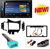 "Pioneer AVH-200EX 2-Din 6.2"" DVD/CD/iPhone/Android/Bluetooth + Double DIN Car Radio Stereo Dash Kit Wire Harness for 2003-2007 Honda Accord"