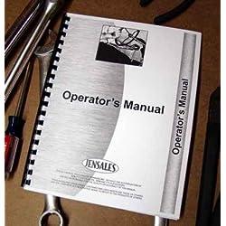 John Deere 1040 Tractor Operators Manual