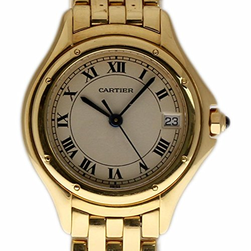 Cartier Cougar Swiss-Quartz Female Watch Unknwon (Certified Pre-Owned) ()
