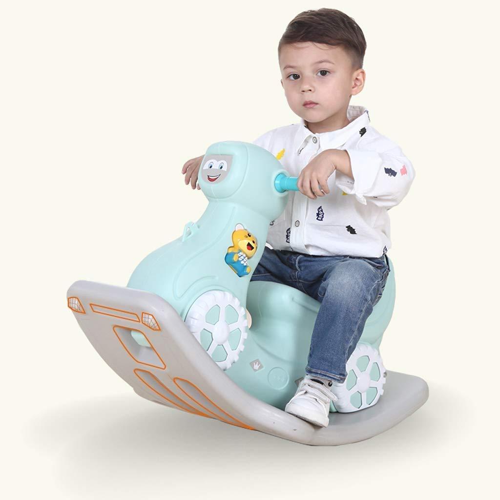 Kylinmmn Child Rocking Horse Toy, Toddler Animal Rocker, Rocker for Kid 1-3 Years, Rocking Horse/Stuffed Animal/Baby Rocker Horse/Ride Animal (Color : A) by Kylinmmn (Image #4)