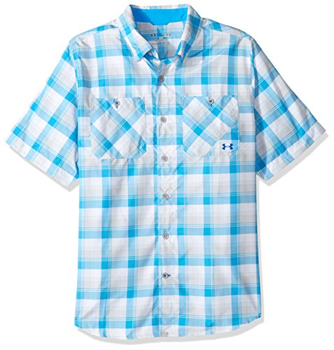 Under Armour Chesapeake Shirt, Electric Blue/Black, Medium
