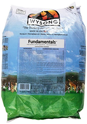 Wysong Fundamentals Canine/Feline Formula Dry Dog/Cat Food, 5 Pound Bag