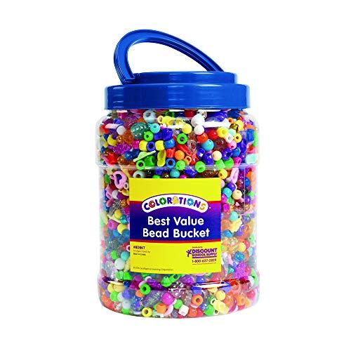 Colorations Best Value Bead Bucket (Item # BDBKT) ()