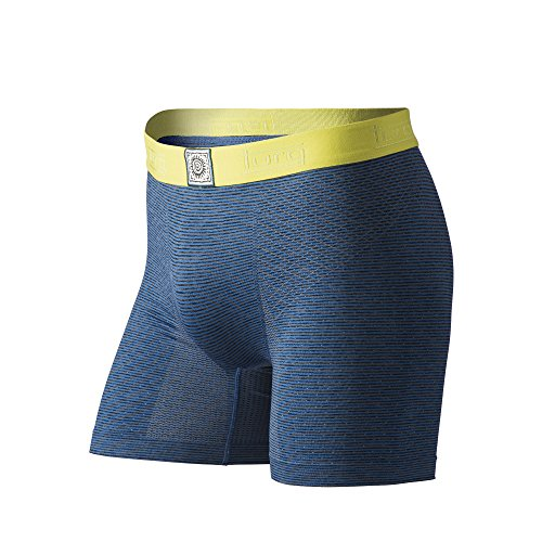 Turq Performance Underwear, Turbo Stripes, Medium (32-34), Blue by Turq