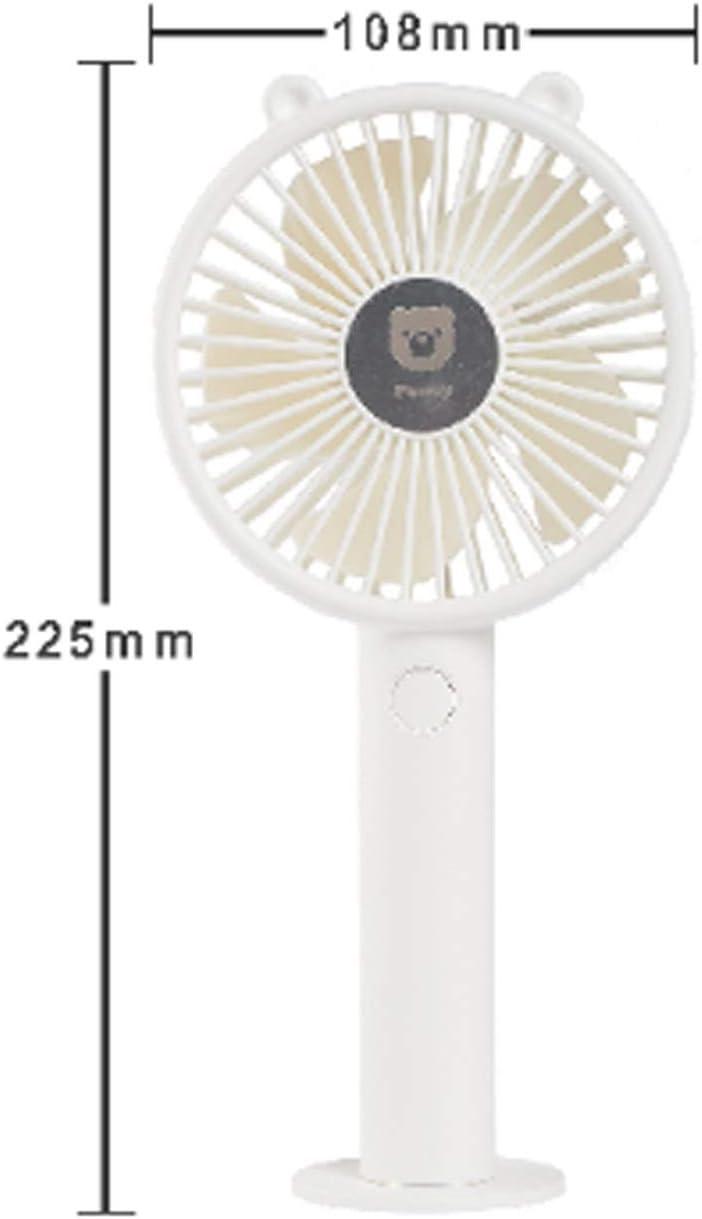 Color : 01 XIAOF-FEN USB Fan 3 Gear Wind Portable Handheld Mini Fan Outdoor Cooling Personal Fan USB Fan
