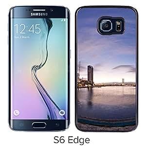 Bay panorama Hard Plastic Samsung Galaxy S6 Edge G9250 Protective Phone Case