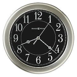 Jewelry Adviser Gifts Libra Brushed Nickel Finish Wall Clock
