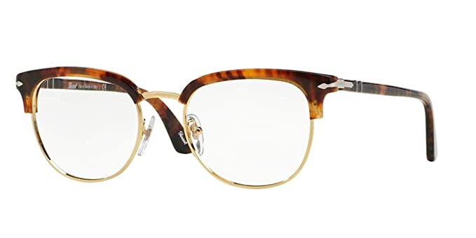 d20f83cd45 Image Unavailable. Image not available for. Color  PERSOL Eyeglasses PO  3105VM 108 Caffe  49MM
