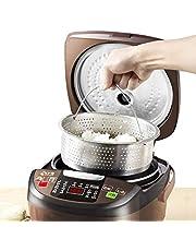 Zhihao 3L hogar Inteligente multifunción Desazucarado Cocina de arroz, arroz Shuadan escurrido desalado for Nueva Azúcar-Reduci Arrocera-Adaptador for Las Necesidades Usted Tensión