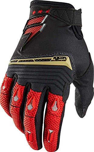(2015 Shift Recon Gloves-Black/Red-XL)