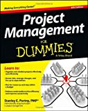 Project Management for Dummies, Stanley E. Portny, 1118497236