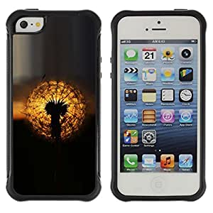 """Hypernova Defender Series TPU protection Cas Case Coque pour Apple iPhone SE / iPhone 5 / iPhone 5S [oduvanchik Solnce zakat""""]"""