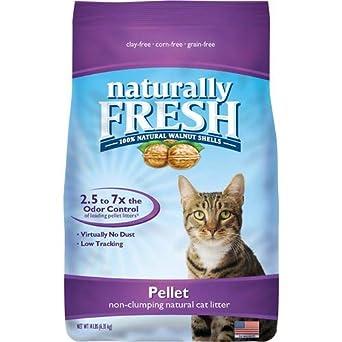Naturally Fresh Arena para gatos con base de nogal, bolsa de 14 ...