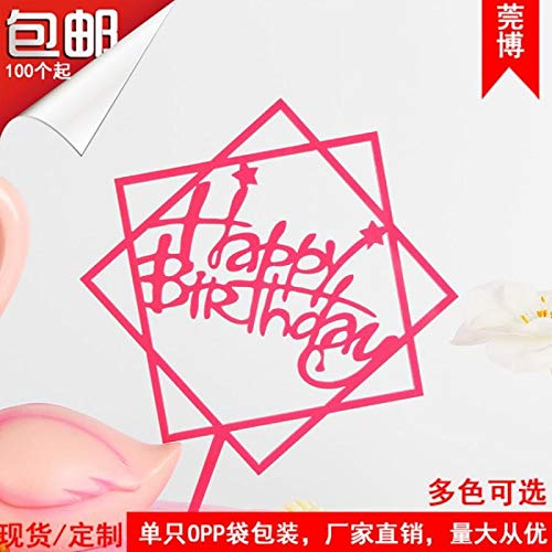 1 piece 29Type Happy birthday cake toppers birthday cupcake wrapper Wedding cake topper cake supplies Thanksgiving Christmas -