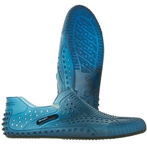 Beppi Herren Damen Wasserschuhe Badeschuhe   Aqua-Shoes Für Urlaub Strand Surfen   Strandschuhe Gelocht Blau