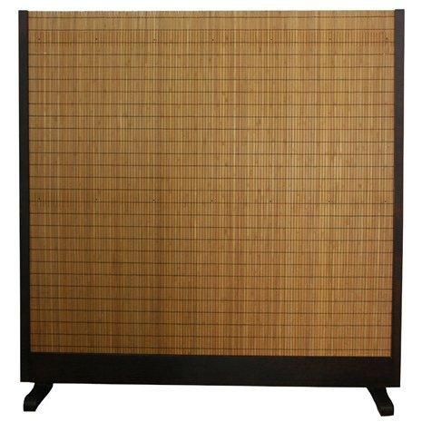 Oriental Furniture 6-1/4' Tall Room Divider - Walnut