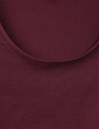 Street One Lenka, Camiseta para Mujer Violett (Master Wine 11018)