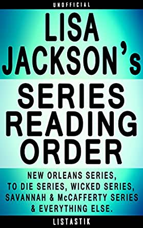 Lisa Jackson Series Reading Order: Series List - In Order