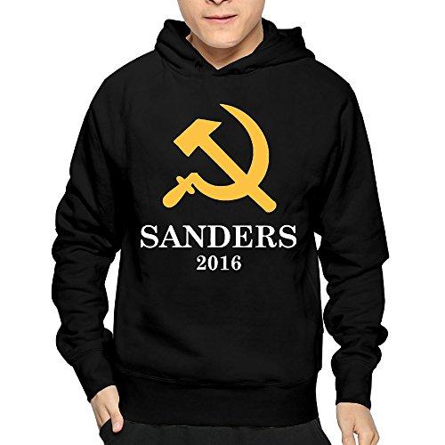 Man Bernie Sanders Socialist 80's Hoodies 100% Cotton ()