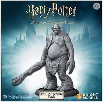 Knight Models Juego de Mesa - Miniaturas Resina Harry Potter Muñecos Troll Adventure Pack versión inglesa: Amazon.es: Juguetes y juegos