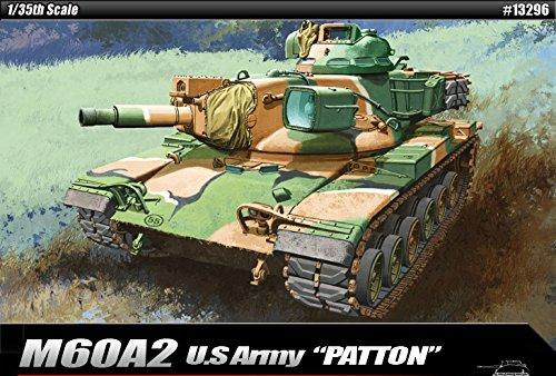 35 Us Army Tank - Academy M60A2 Patton Model Kit