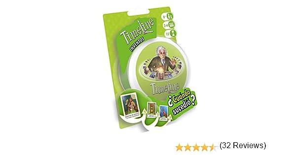 Zygomatic- Timeline: Inventos, Multicolor, Talla Única (Asmodée TIME01ES): Amazon.es: Juguetes y juegos