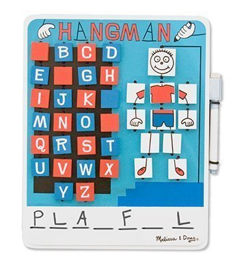 6 Pack MELISSA & DOUG FLIP TO WIN HANGMAN by Melissa & Doug