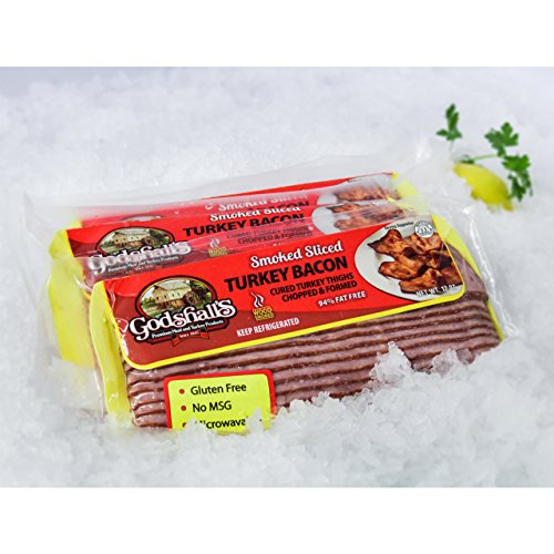 (Turkey Bacon, 12 Oz Package, 4 Pack -3 Lb)