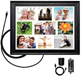 ClearStream View Wall Frame Amplified Indoor HDTV Antenna with Collage Mat, USB Cable, and USB Power Adapter
