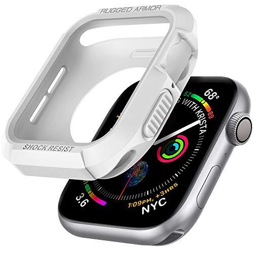 Funda Spigen Apple Watch Serie 6/se/5/4 44mm Blanca