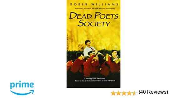 Dead Poets Society N H Kleinbaum 9781401308773 Books Amazonca – Dead Poets Society Worksheet
