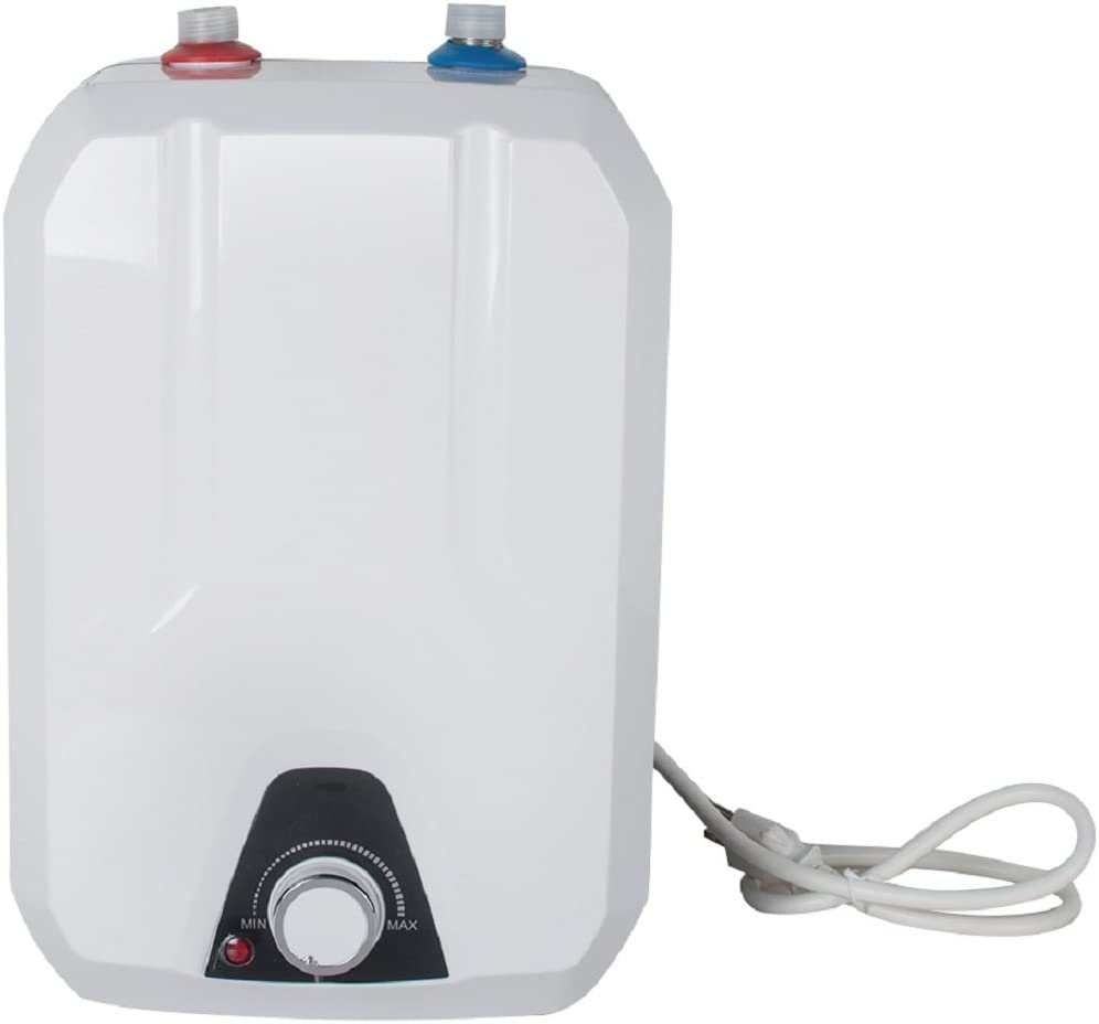 Tinsay 2.1 Gallon 8L Electric Mini-Tank Water Heater Electric Instant Water Heater Electric Hot Water Heater for Kitchen Household 110V-USA Delivery,3-6 Days