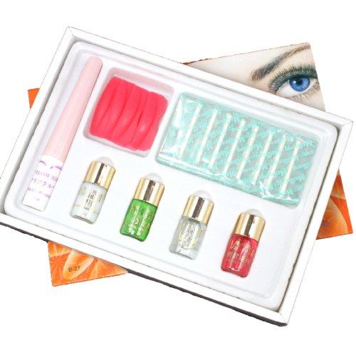 Professioanl Eyelash Eye Lashes Eyelashes Curling Perming Curler Curl Extra Longer Glue Perm Box Full Kit Set B-27