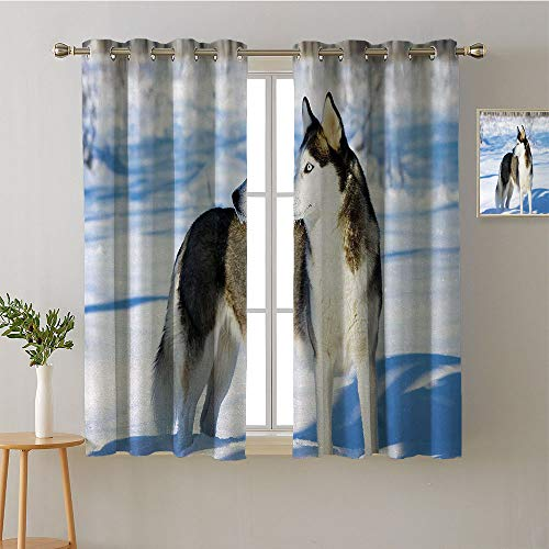 Suchashome Curtain Doorway Grommets Insulated Darkening Curtains Design Darkening Curtains Style Darkening Curtains Curtains/Panels/Drapes(1 Pair, 52